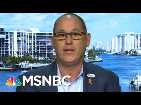 Father Of Parkland Victim Endorses Joe Biden   Velshi & Ruhle   MSNBC