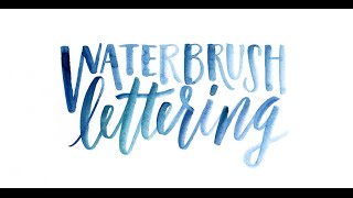 Video Tips for Lettering Using a Waterbrush download MP3, 3GP, MP4, WEBM, AVI, FLV Agustus 2018
