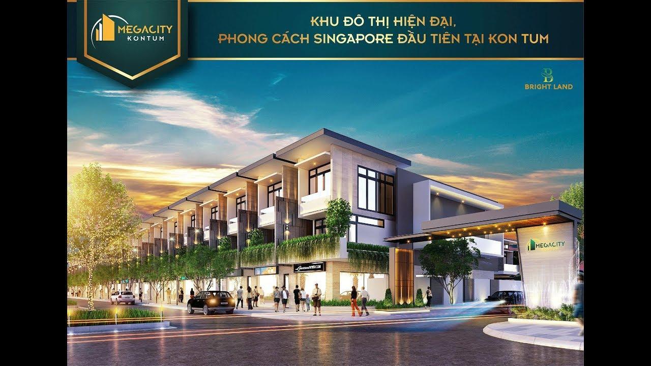 Mega city Kon Tum | Bất động sản thực tế Kon Tum