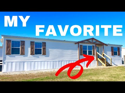 My Favorite Mobile Home By Far! 32x70 3 Bedroom 2 Bath By Champion Homes | Home Tour