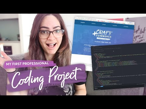 My first professional code project! | Conference site development