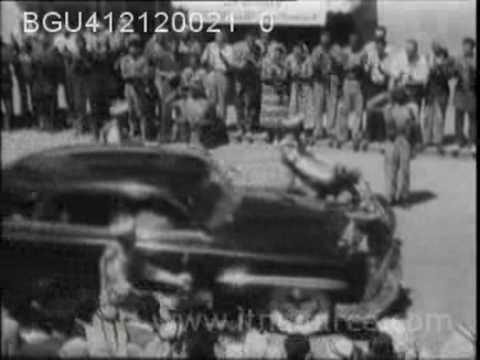 Coronation of King Talal   Amman 1951