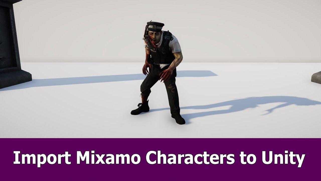 Import Mixamo Characters to Unity 2017
