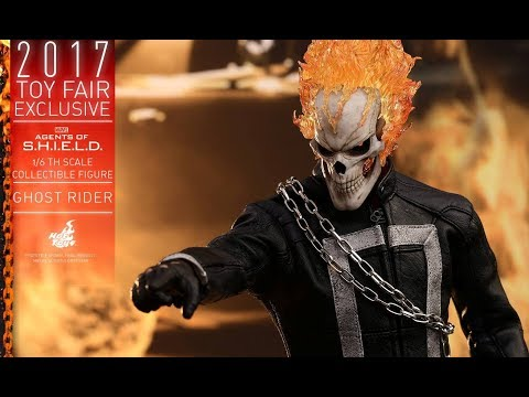 PREVIEW Hot Toys Ghost Rider Toy Fair 2017 / DiegoHDM