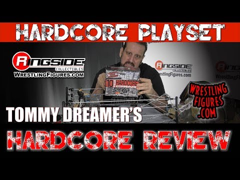 FIGURE INSIDER: Tommy Dreamer's Hardcore Review:  10-Piece Hardcore Accessories Playset