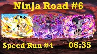 Naruto Shippuden: Ultimate Ninja Blazing - Ninja Road #6: Speed Run #4 (06:35)
