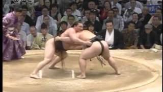Hakuho vs. Asashoryu, Day 15, Nagoya 2009