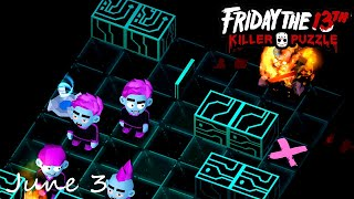 Friday the 13th Killer Puzzle Daily Death June 3 2020 Walkthrough