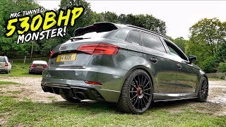 THIS MRC TUNED *STAGE 2 530BHP* AUDI RS3 IS A MONSTER! PLUS WIN WITH BOTB
