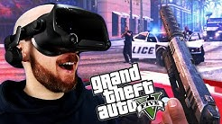 GTA 5 In Virtual Reality Is AWESOME