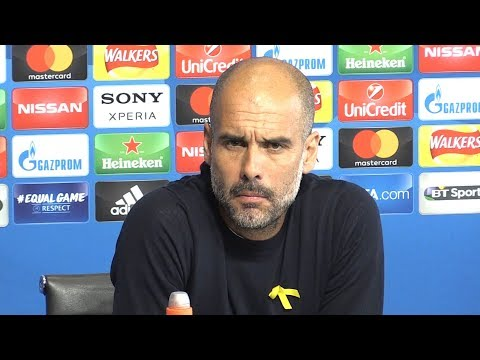 Pep Guardiola Full Pre-Match Press Conference - Manchester City v Liverpool - Champions League