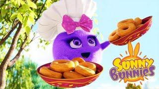 Солнечно Зайчики - Пончики - ниндзя |  Забавные мультфильмы для детей | WildBrain
