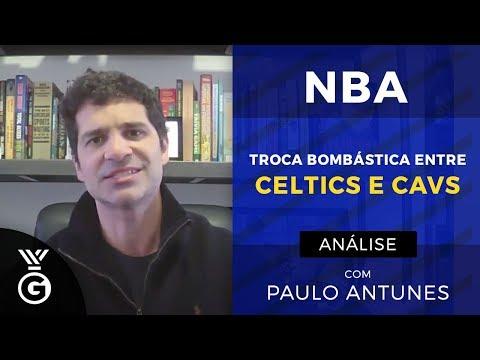 Troca bombástica na NBA! Paulo Antunes analisa Irving nos Celtics e Thomas nos Cavs