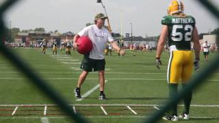 Packers Linebacker Drills