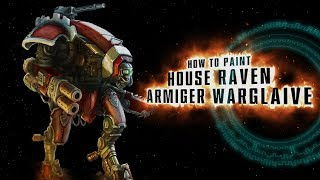 How to paint: House Raven Armiger Warglaive.