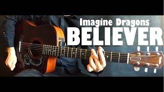 Imagine Dragons - Believer (фингерстайл) Разбор + Табы  | Уроки гитары от PlayThis#26