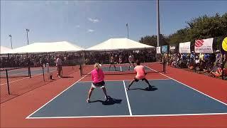 Mixed Pro Hamner-Loong vs Jardim-Yates 2018 US Open Pickleball Tournament