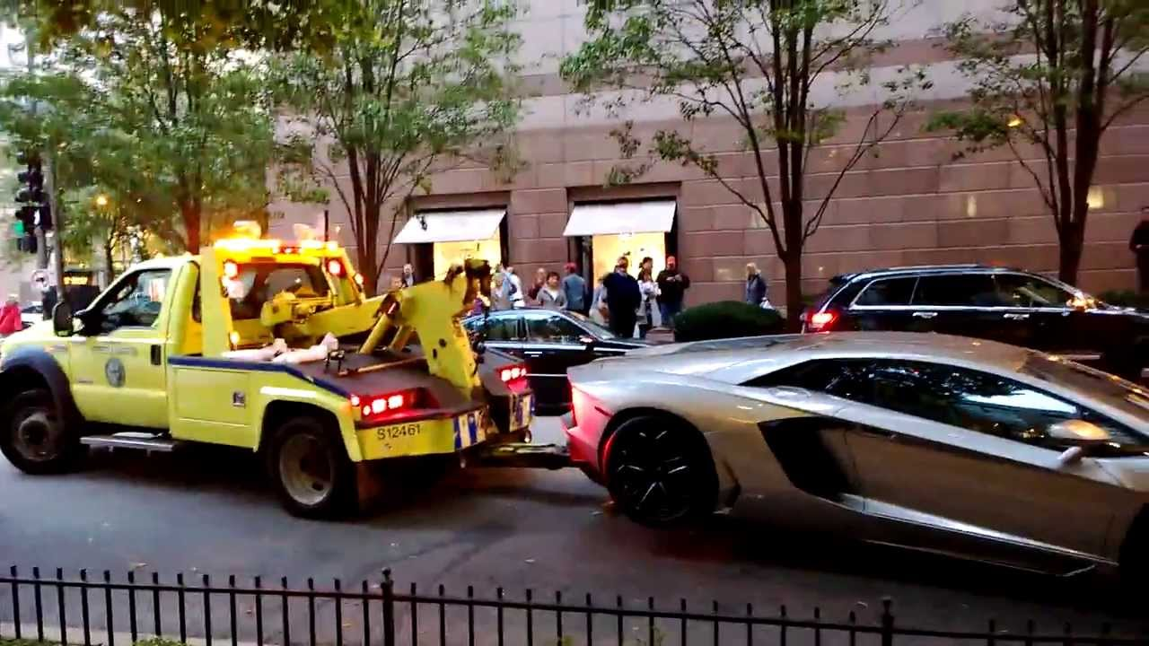 Getting Your Car Towed