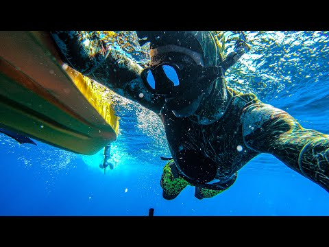 Spearfishing From Kayak | Epic Catch N Cook