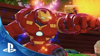 Disney Infinity 3.0 Edition - Marvel Battlegrounds Play Set Trailer | PS4, PS3