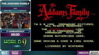 The Addams Family by garbanzoguy in 5:22 - Awesome Games Done Quick 2017 - Part 78