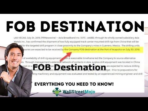 FOB Destination | Definition | FOB Destination Shipping