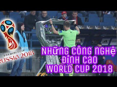 Bốn công nghệ mới đỉnh cao được áp dụng tại WC2018
