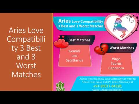 Aquarius, Aries, Cancer Love Compatibility 3 Best and 3 Worst Matches