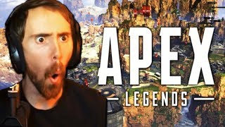 Asmongold Plays APEX LEGENDS for the FIRST TIME and LOVES IT