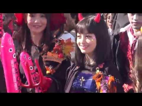 橋本環奈×ピスタチオ/T-SPOOK 東京お台場ハロウィンパレード(2015.10.25)