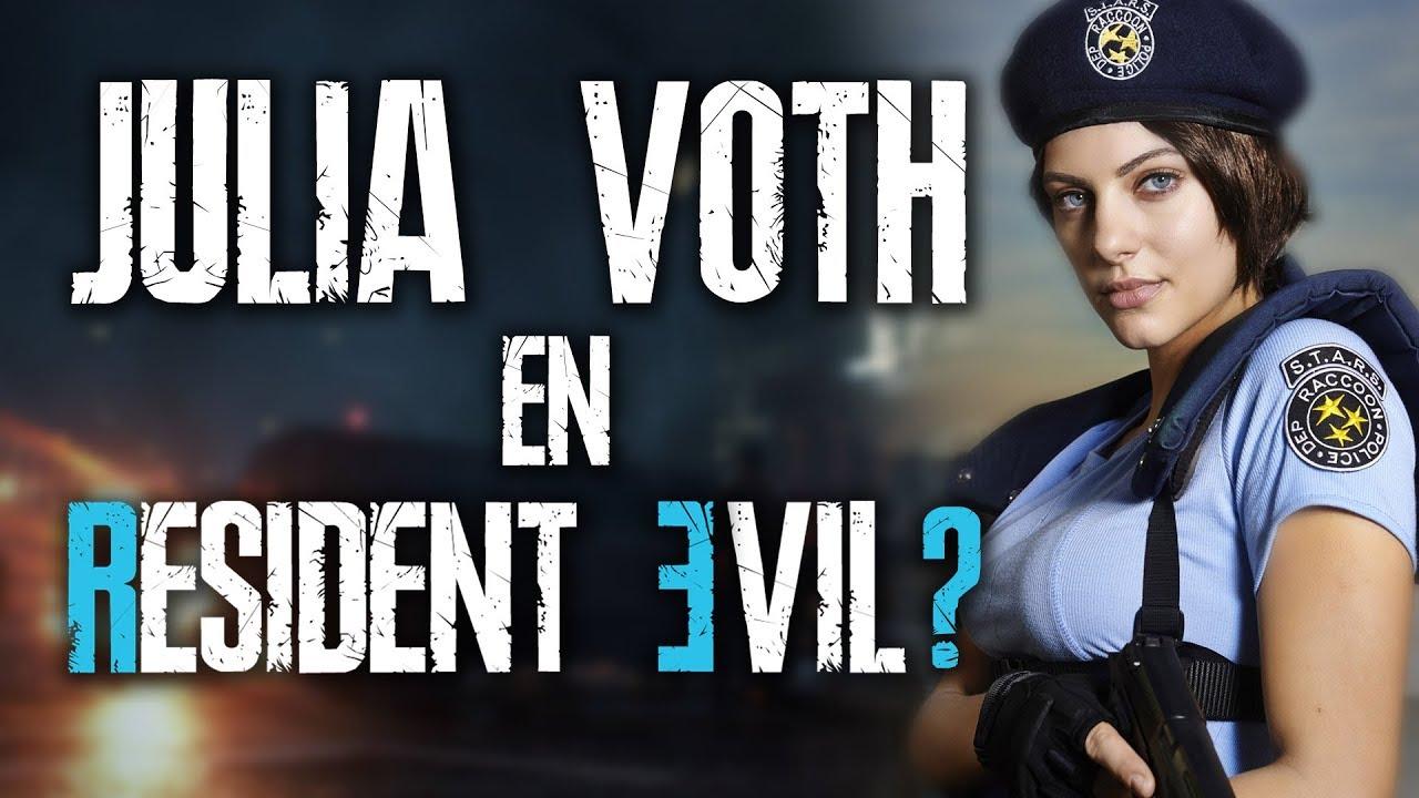 Resident Evil 3 Remake Julia Voth Como Jill Valentine Opinion