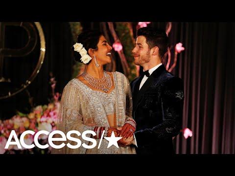 Priyanka Chopra & Nick Jonas Celebrate At Lavish Wedding Reception