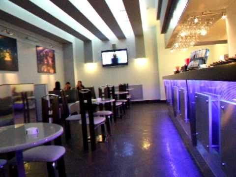 Эксклюзивная светодинамическая барная стойка для кафе «ЮНОСТЬ»