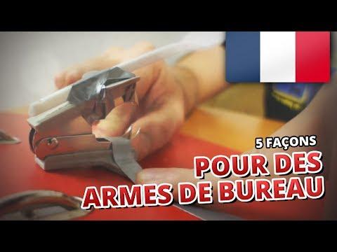 5 façons pour... DES ARMES DE BUREAU