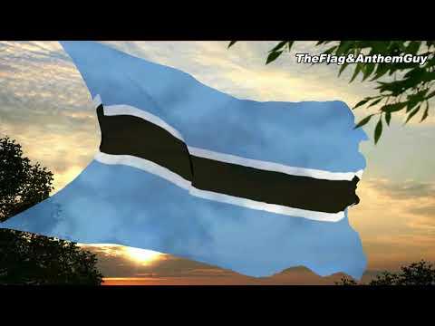 Flag and anthem of Botswana