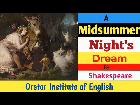 A Midsummer Night's Dream by William Shakespeare in Hindi