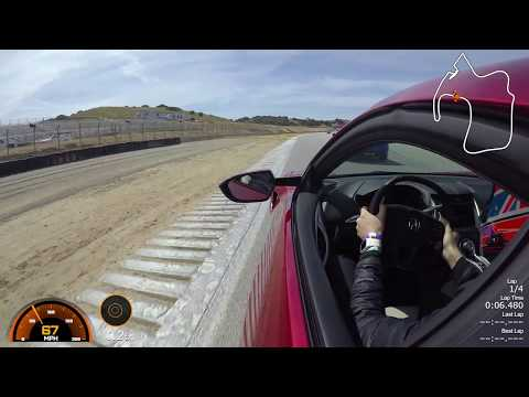 2017 Acura NSX - Professional Driver - Mazda Raceway Laguna Seca