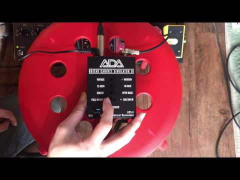 ADA GCS-3 cabinet simulator test with Acoustic Guitar / 원미사운드