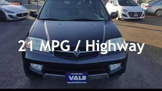 2002 Acura MDX Touring for sale in NOVATO, CA