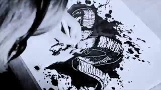 Speed Drawing | Pagan Goat Skull by Vibsitsi