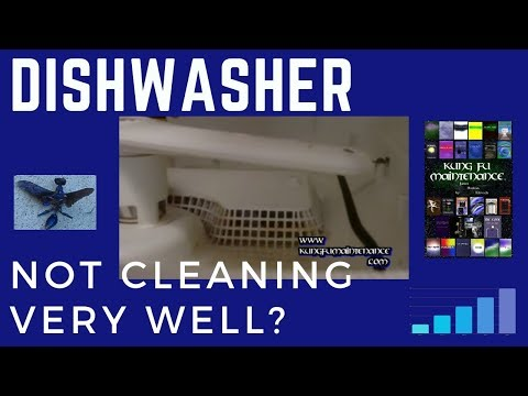 Dishwasher Not Cleaning Very Well ?