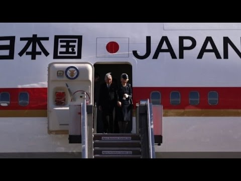 Japan's Akihito arrives in Philippines for state visit