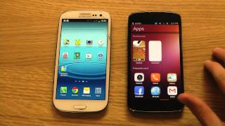 Android 4.2 Jelly Bean vs. Ubuntu Review Comparison