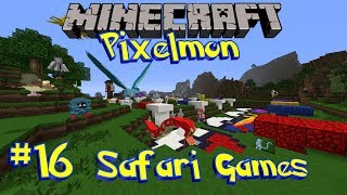 Pixelmon Safari Games [Ep 16] - Safari Sunday with Loki