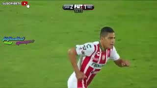 Santos vs Necaxa 3-2 Goles y Resumen Liga Mx 2017 Jornada 10