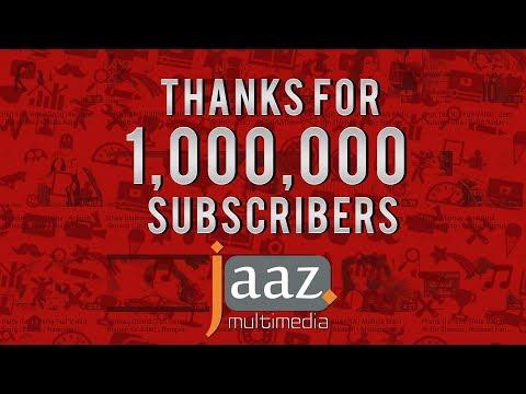 1,000,000 (1 Million) Subscribers On Jaaz Multimedia Youtube Channel.