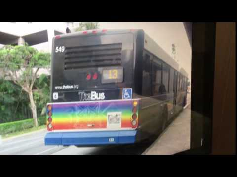 TheBus Honolulu 2003 Gillig Advantage #549 Route 13 Picture