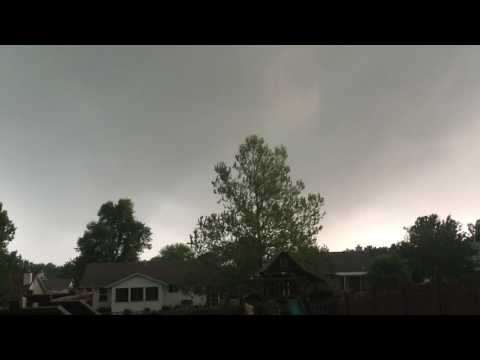 Hail storm in St. Charles / St. Louis 5/11/2016