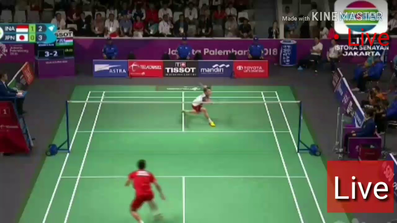 Streaming Indosiar: Indosiar • Live Streaming • Badminton Asian Games 2018