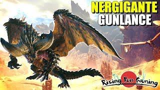 Monster Hunter World Beta Nergigante and Gunlance